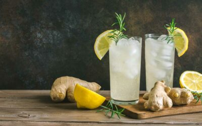 Selbstgemachte Zitronen-Ingwer –Limonade
