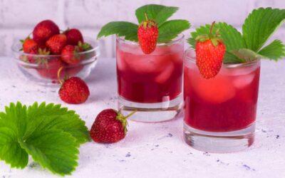 Erdbeer-Himbeer-Limonade