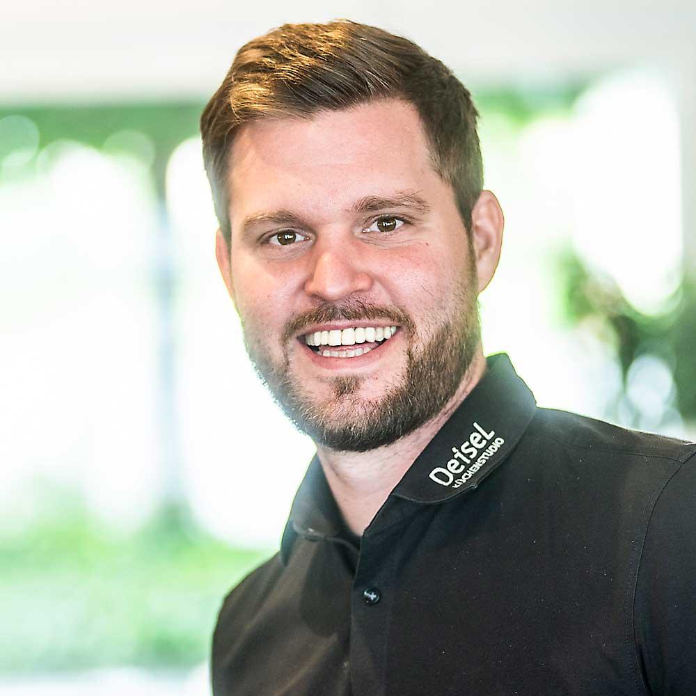 Kim Niklas Aurand - Projektleiter im DEISEL Küchenstudio